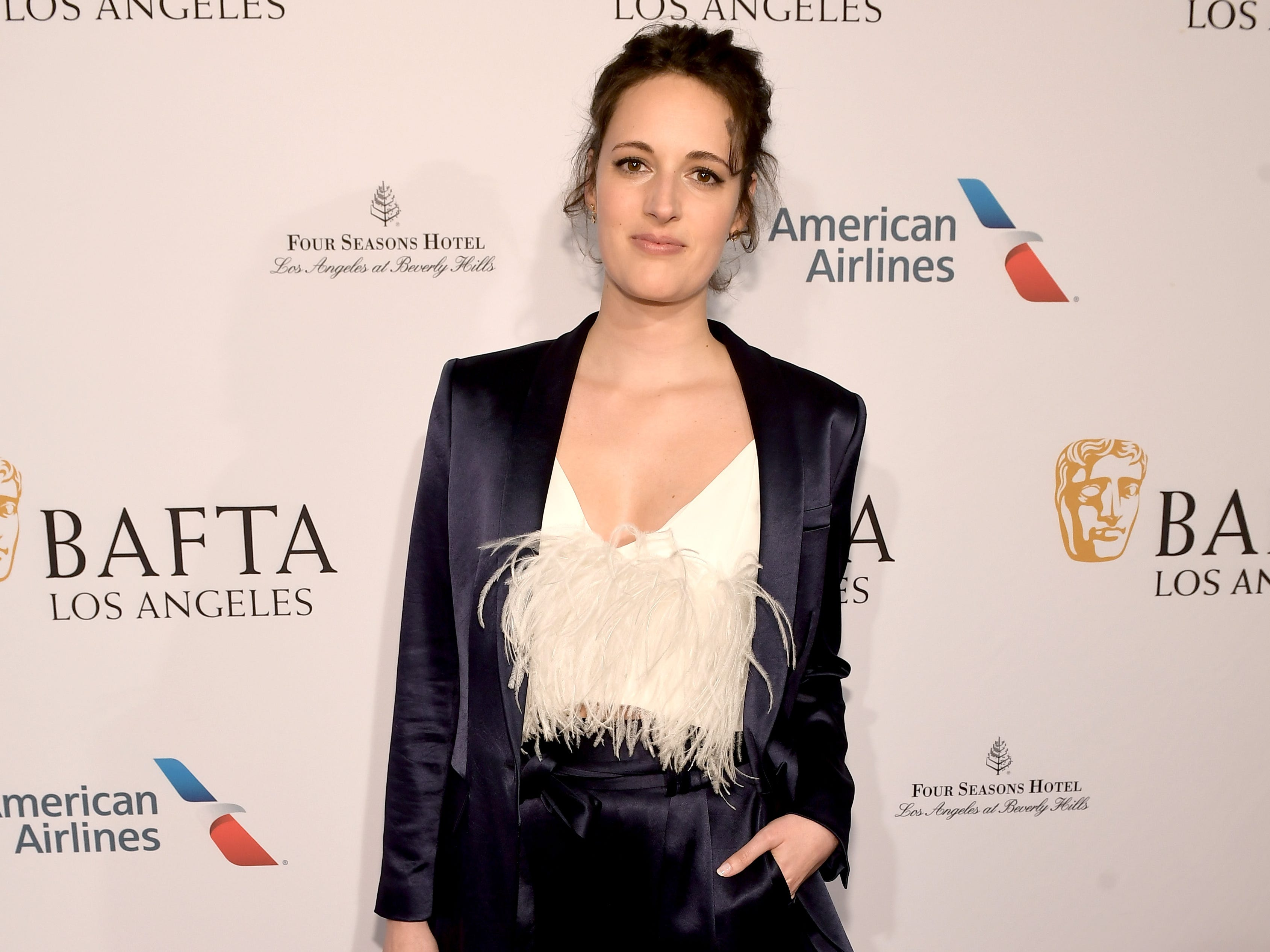 LOS ANGELES, CA - JANUARY 05:  Phoebe Waller-Bridge attends The BAFTA Los Angeles Tea Party at Four Seasons Hotel Los Angeles at Beverly Hills on January 5, 2019 in Los Angeles, California.  (Photo by Matt Winkelmeyer/Getty Images) ORG XMIT: 775256316 ORIG FILE ID: 1077926598