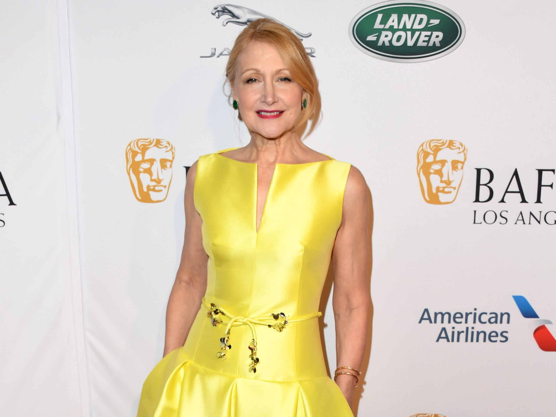 LOS ANGELES, CA - JANUARY 05:  Patricia Clarkson attends The BAFTA Los Angeles Tea Party at Four Seasons Hotel Los Angeles at Beverly Hills on January 5, 2019 in Los Angeles, California.  (Photo by Jon Kopaloff/Getty Images) ORG XMIT: 775261683 ORIG FILE ID: 1077928164