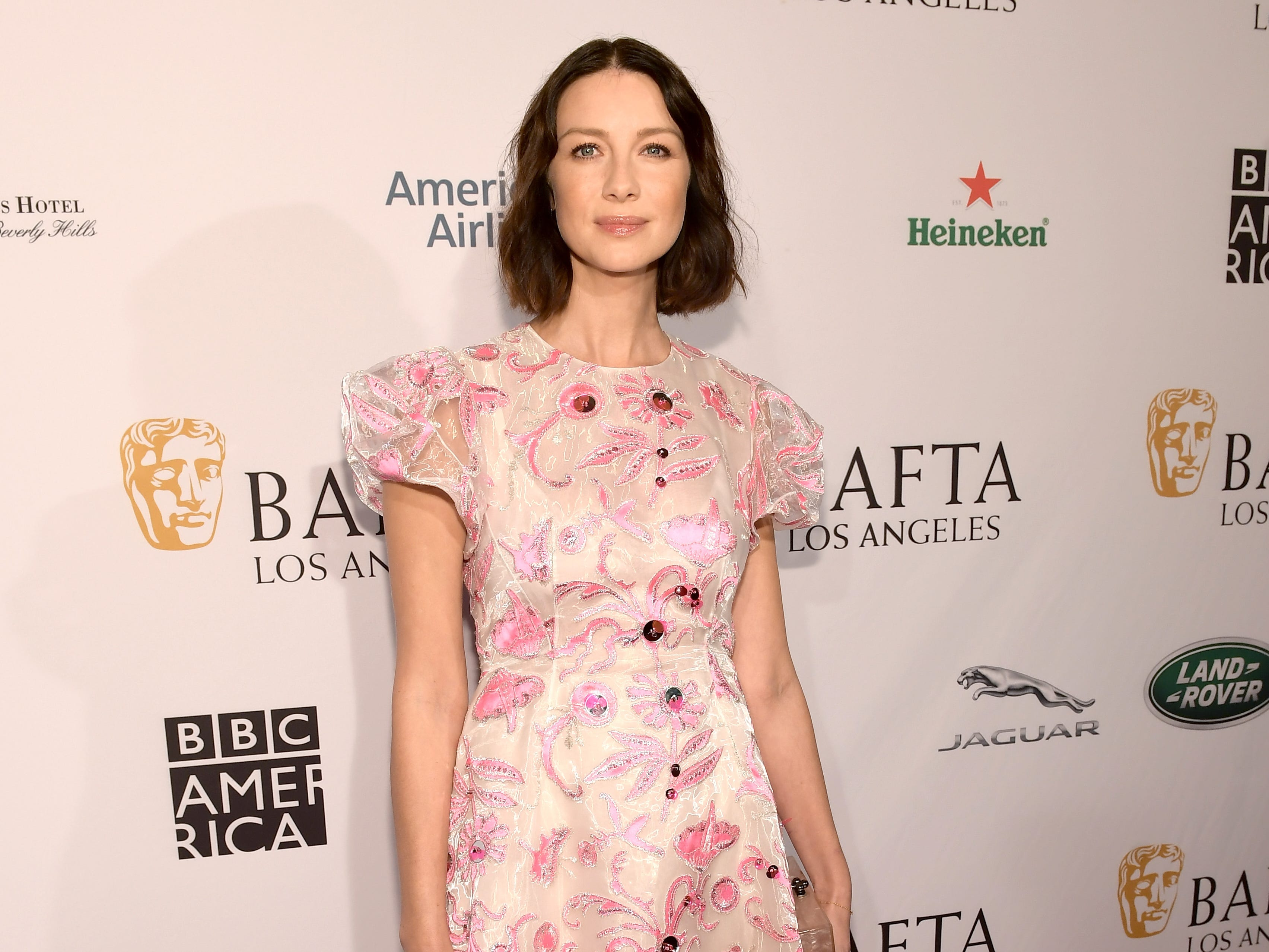 LOS ANGELES, CA - JANUARY 05:  Caitriona Balfe attends The BAFTA Los Angeles Tea Party at Four Seasons Hotel Los Angeles at Beverly Hills on January 5, 2019 in Los Angeles, California.  (Photo by Matt Winkelmeyer/Getty Images) ORG XMIT: 775256316 ORIG FILE ID: 1077925380
