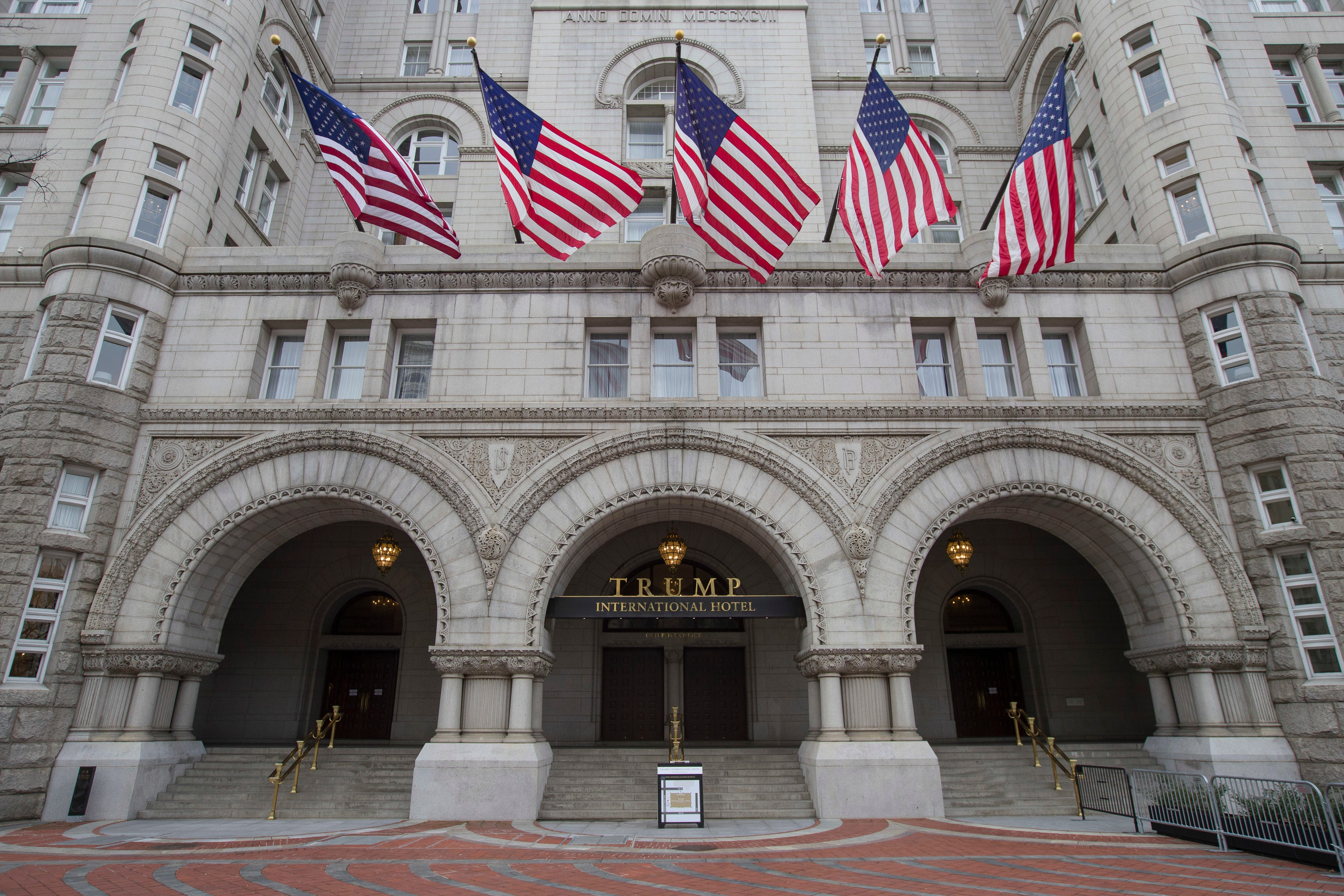Watchdog: Federal property managers ignored whether Trump hotel lease violated Constitution