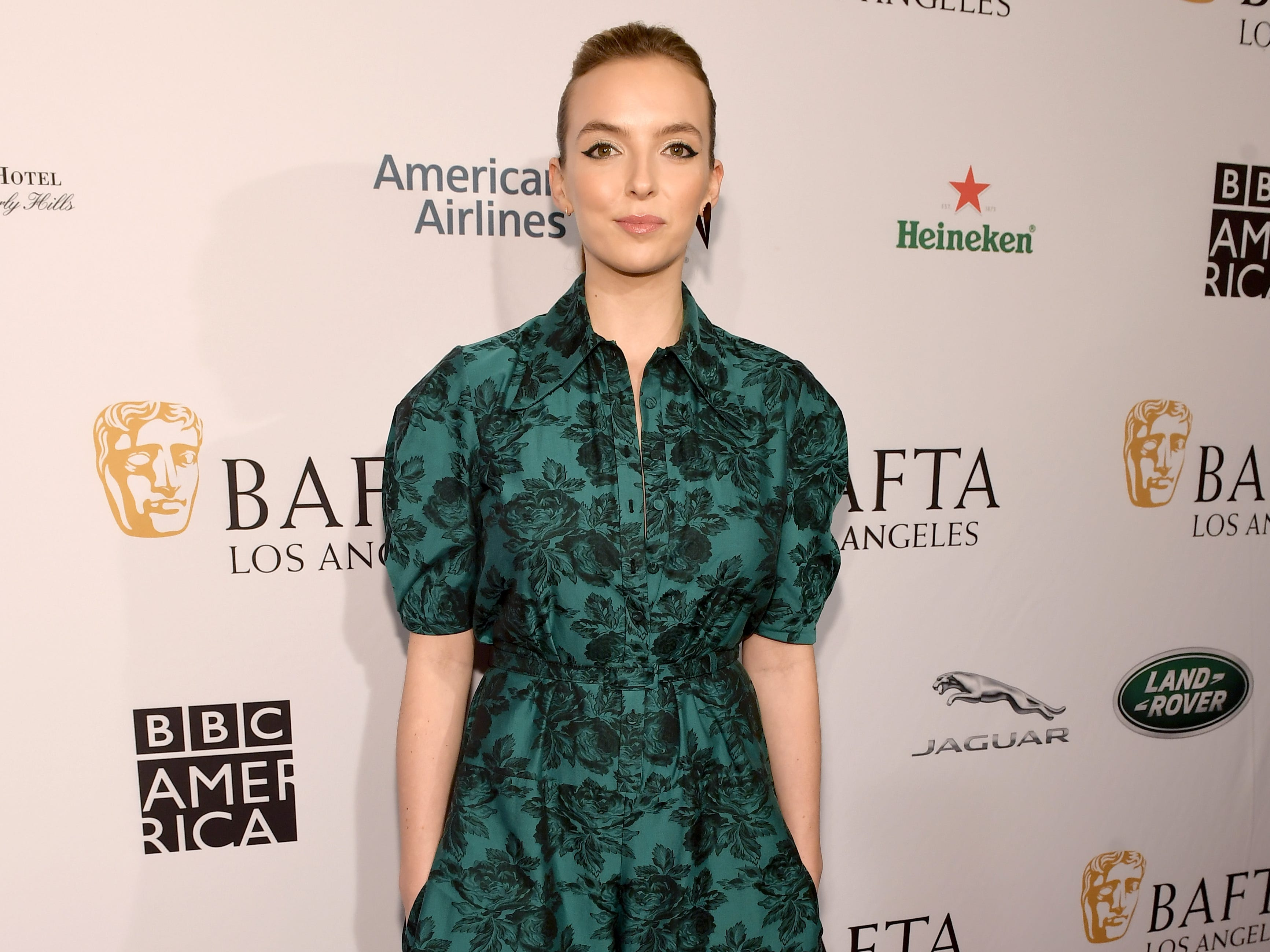 LOS ANGELES, CA - JANUARY 05:  Jodie Comer attends The BAFTA Los Angeles Tea Party at Four Seasons Hotel Los Angeles at Beverly Hills on January 5, 2019 in Los Angeles, California.  (Photo by Matt Winkelmeyer/Getty Images) ORG XMIT: 775256316 ORIG FILE ID: 1077926608