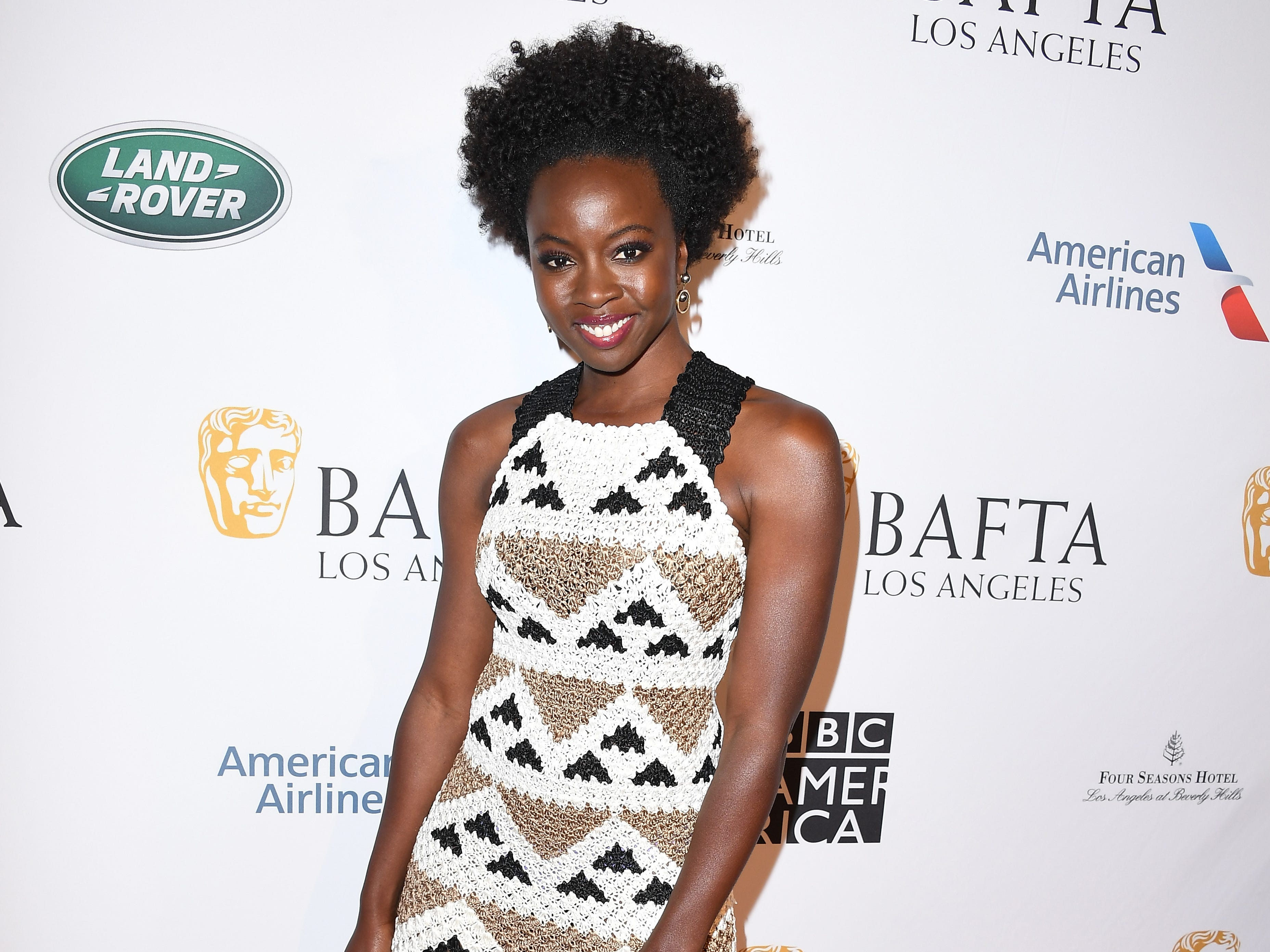 LOS ANGELES, CA - JANUARY 05:  Danai Gurira attends The BAFTA Los Angeles Tea Party at Four Seasons Hotel Los Angeles at Beverly Hills on January 5, 2019 in Los Angeles, California.  (Photo by Steve Granitz/WireImage) ORG XMIT: 775261683 ORIG FILE ID: 1077925840