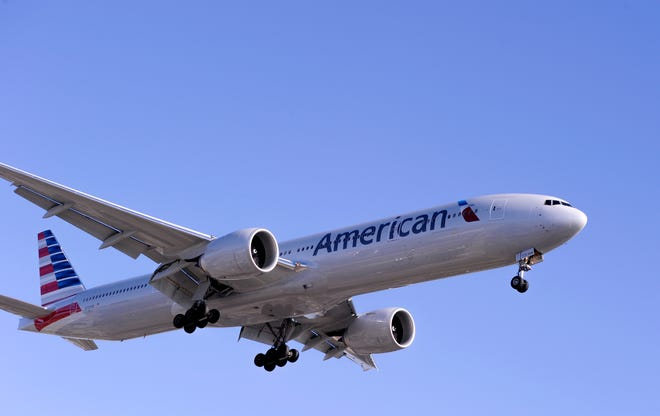 A small fire was ignited on an American Airlines flight.