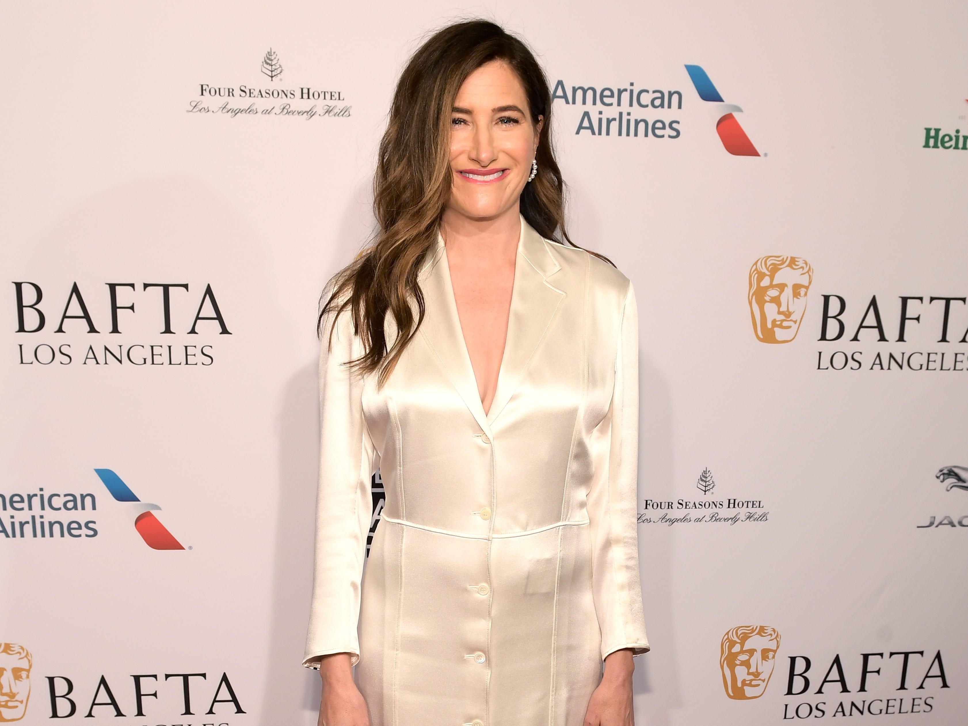 LOS ANGELES, CA - JANUARY 05:  Kathryn Hahn attends The BAFTA Los Angeles Tea Party at Four Seasons Hotel Los Angeles at Beverly Hills on January 5, 2019 in Los Angeles, California.  (Photo by Matt Winkelmeyer/Getty Images) ORG XMIT: 775256316 ORIG FILE ID: 1077925248