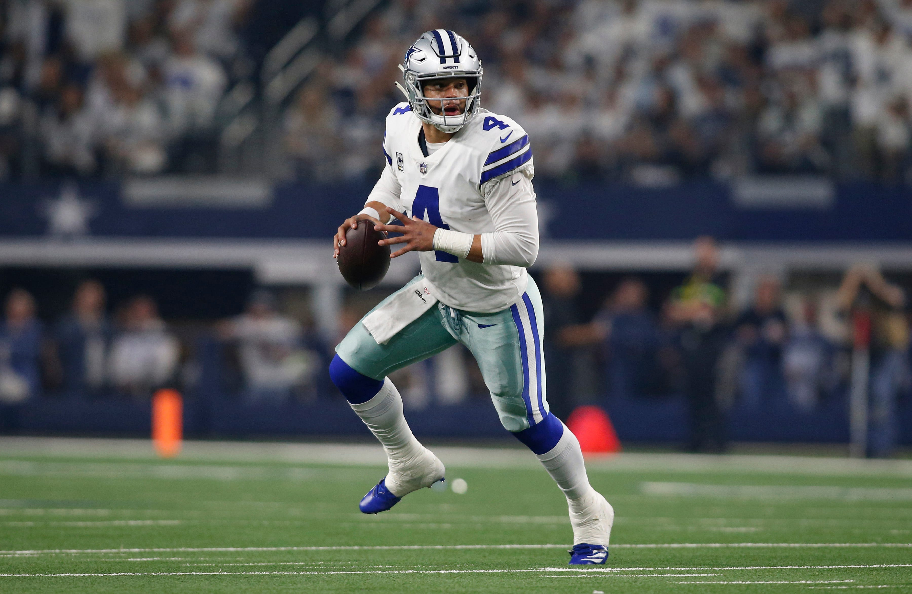 Cowboys close out Seahawks to secure wild-card win