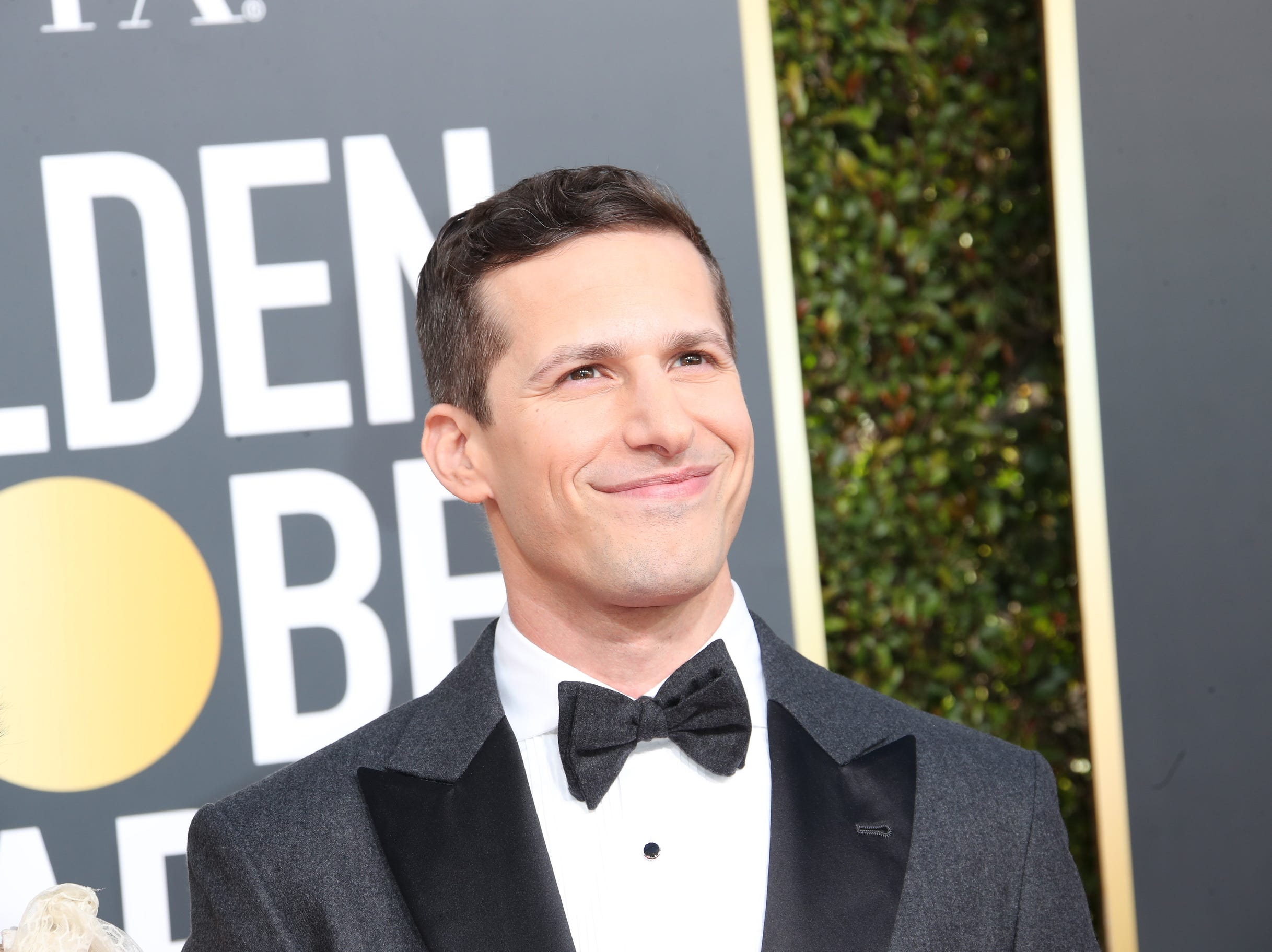 Golden Globe Awards co-host Andy Samberg