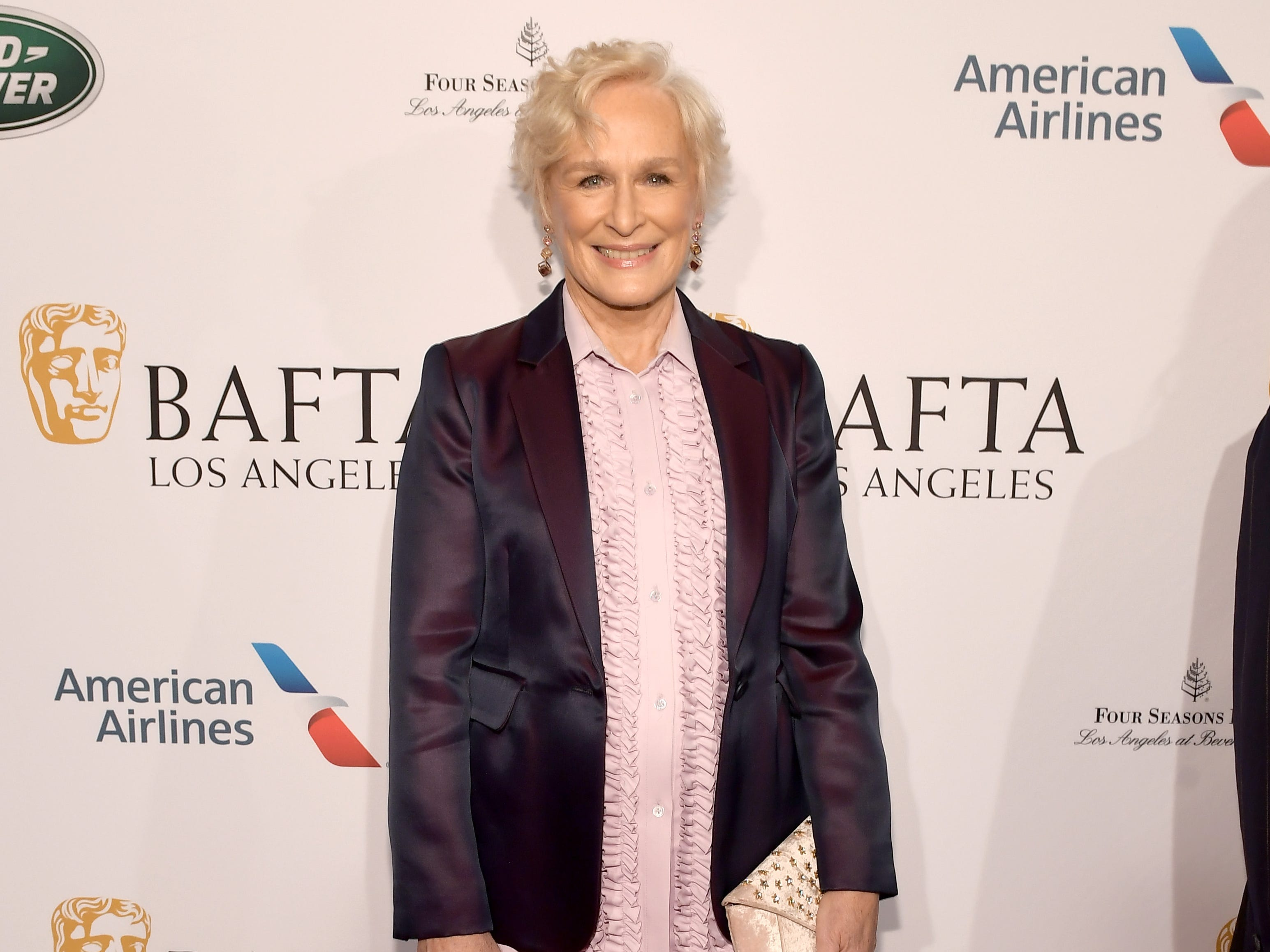 LOS ANGELES, CA - JANUARY 05:  Glenn Close attends The BAFTA Los Angeles Tea Party at Four Seasons Hotel Los Angeles at Beverly Hills on January 5, 2019 in Los Angeles, California.  (Photo by Matt Winkelmeyer/Getty Images) ORG XMIT: 775256316 ORIG FILE ID: 1077924404