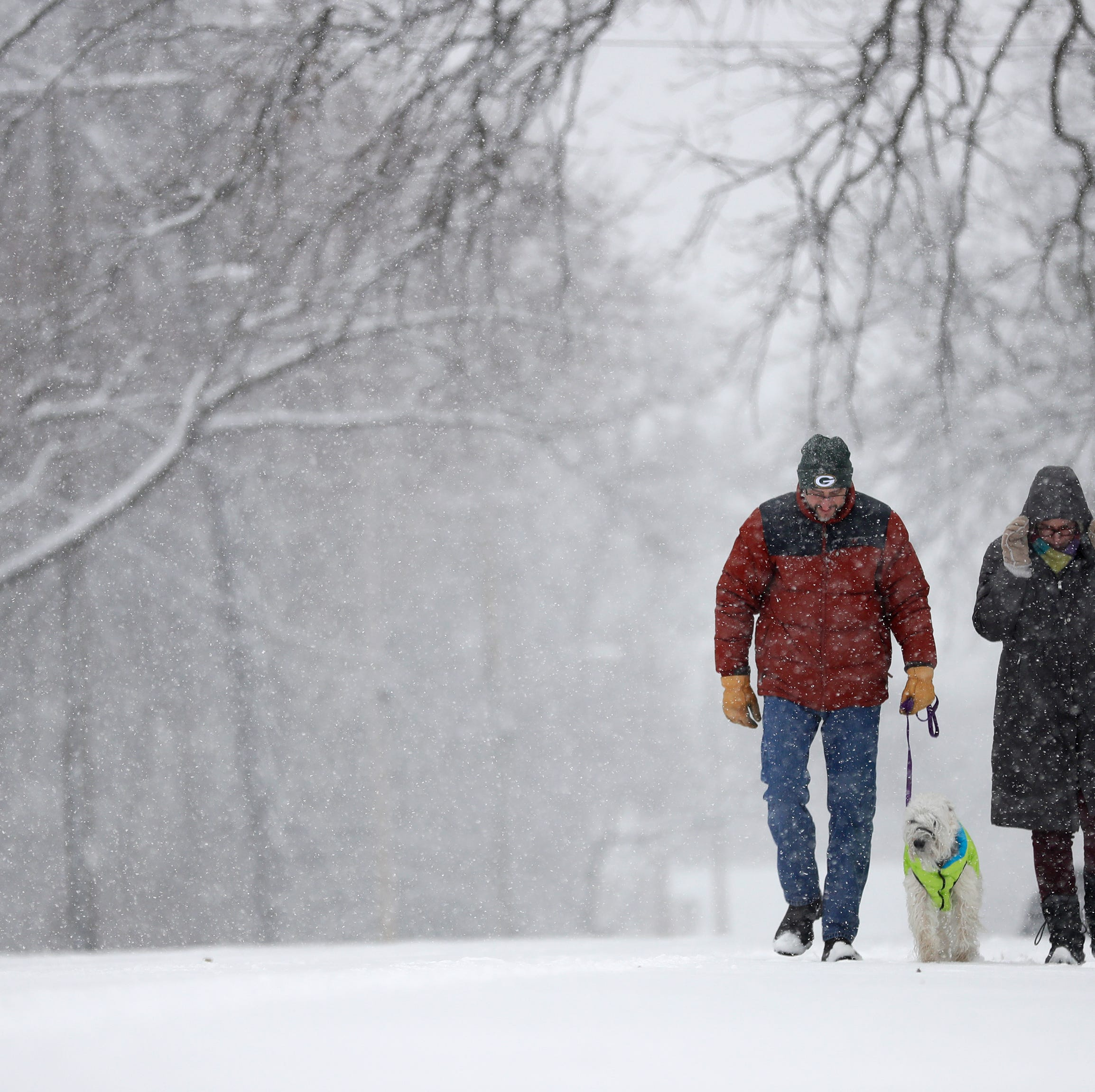 Snowstorm could drop up to 10 inches of snow in some parts of Wisconsin