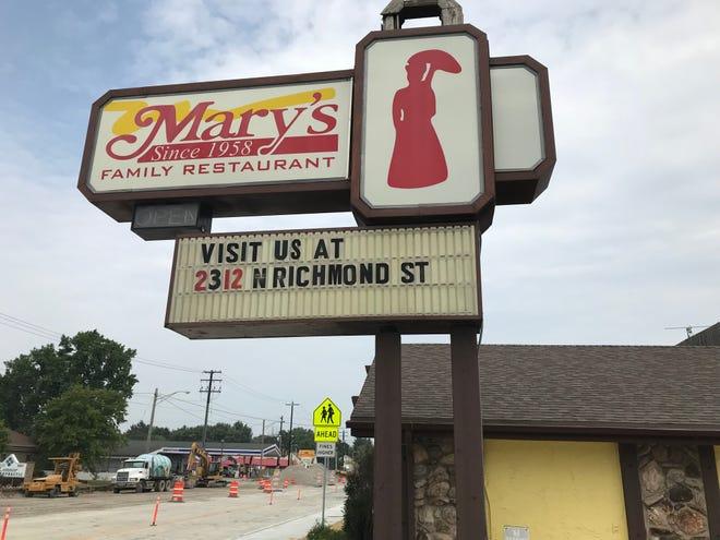 Mary's Family Restaurant on Oneida Street in Appleton.