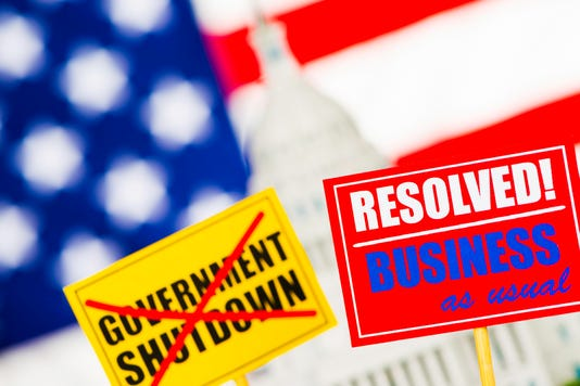 Us Government Shutdown Resolved Business As Usual