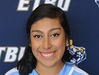 East Texas Baptist sophomore infielder Jeanette Galvan (Tuloso-Midway): Played and started all 46 games as catcher, finishing with a .229 batting average for the 2018 season.