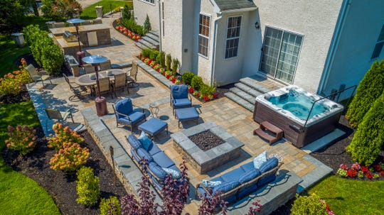 Today's outdoor living spaces are elaborate, including everything from comfy furniture to hot tubs and fire pits. Elite Landscaping in Berlin will showcase its products and services at the Philly Home Show.