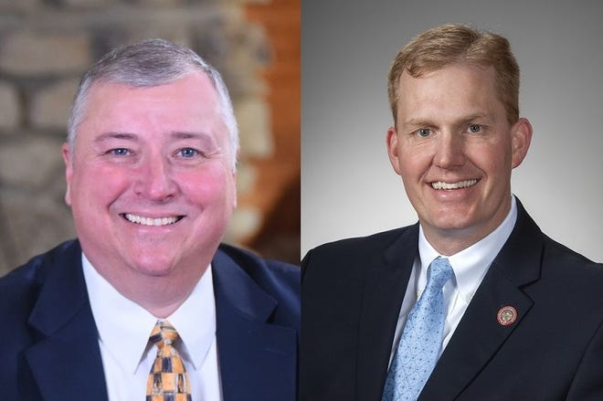 Rep. Larry Householder and Speaker Ryan Smith face off for control of the Ohio House.