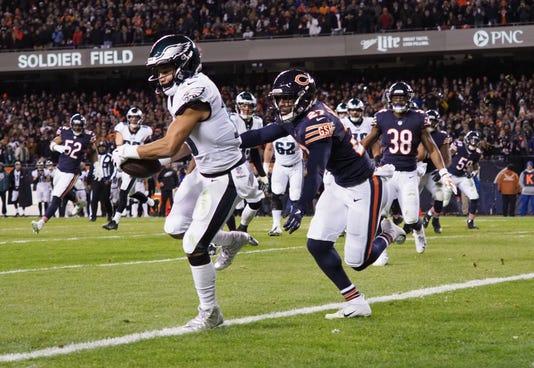 Nfl Nfc Wild Card Philadelphia Eagles At Chicago Bears