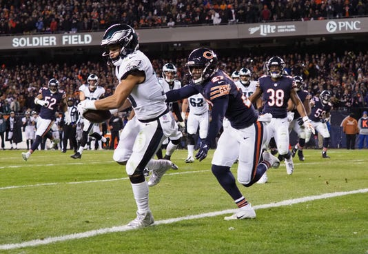 Nfl Nfc Wild Card Philadelphia Eagles At Chicago Bears