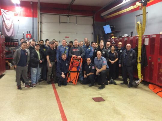 East Franklin Fire Department received the FAST (Firefighter Assistance Search Team) Board through a program where FAST Rescue Solutions reaches out to departments that have lost members to basement fires.