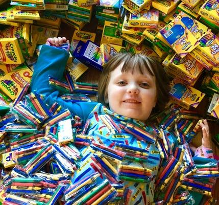 Brooklyn Brown In Crayons