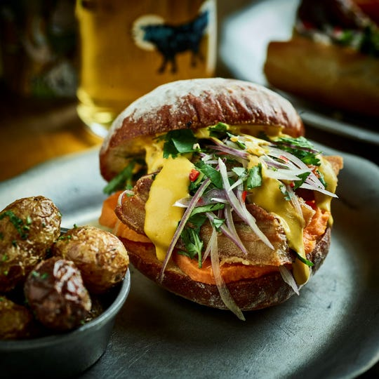 Latido at Joebar in Hazel Park has purchased the old funeral home between its property and Mabel Gray but isn't ready to reveal any plans yet. Pan con chicharron -- a Peruvian crispy pork belly sandwich -- was on the menu when the restaurant opened.