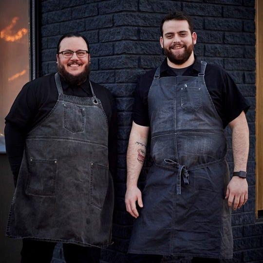 Latido at Joebar Executive Chef Michael Barrera, left, and Chef de Cuisine Moses Fishman.