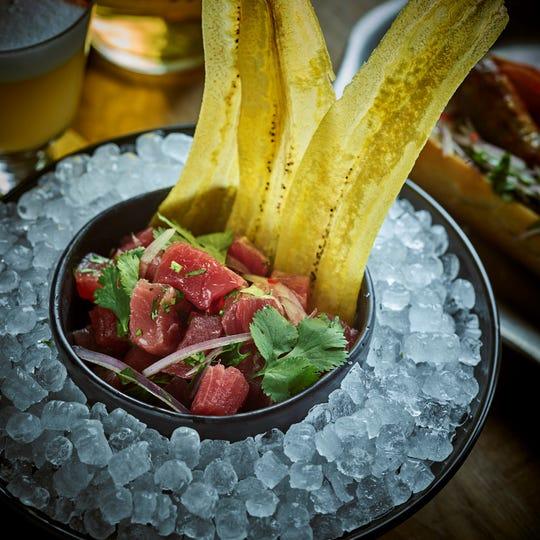 Tuna ceviche from Latido at Joebar.