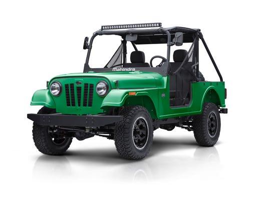 India S Mahindra Brings Jeep Look Alike To Detroit Auto Show