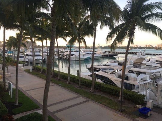 A winter vacation with a warm climate and waterfront views like this one in Miami Beach can be so inspiring.