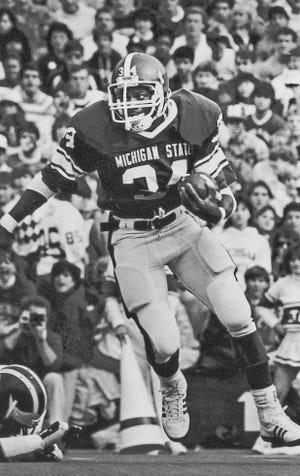 Lorenzo White starred at Michigan State from 1984-87.