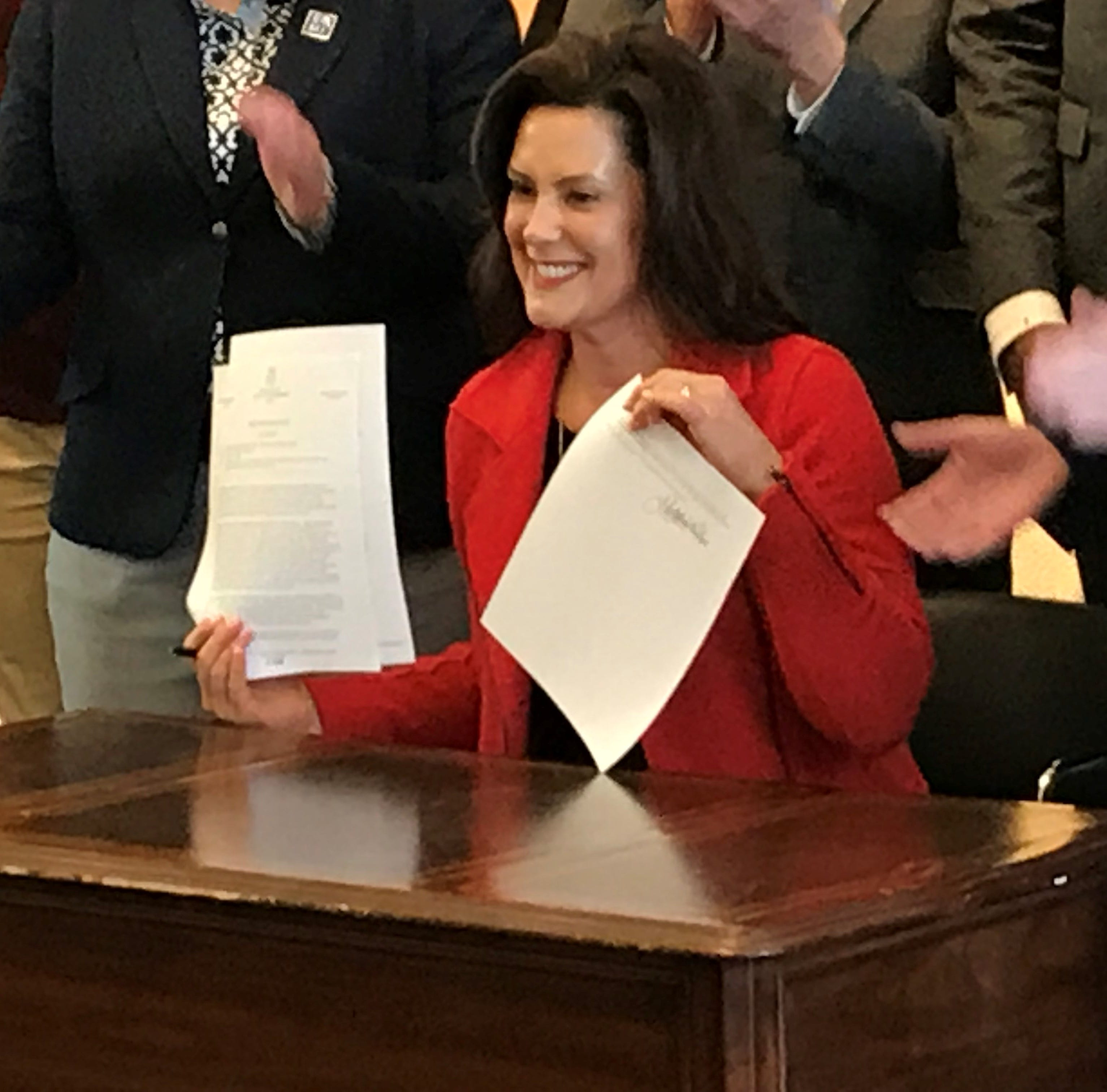 Whitmer signs non-discrimination directive in Ferndale