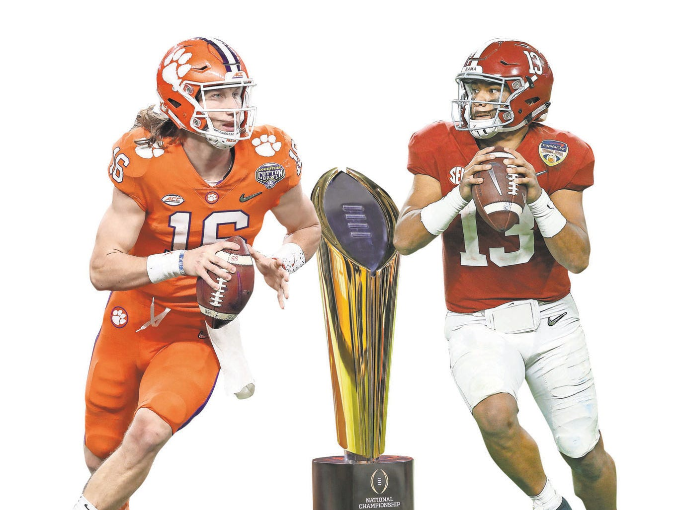 Wojo: Alabama-Clemson compelling, but someone else please catch up
