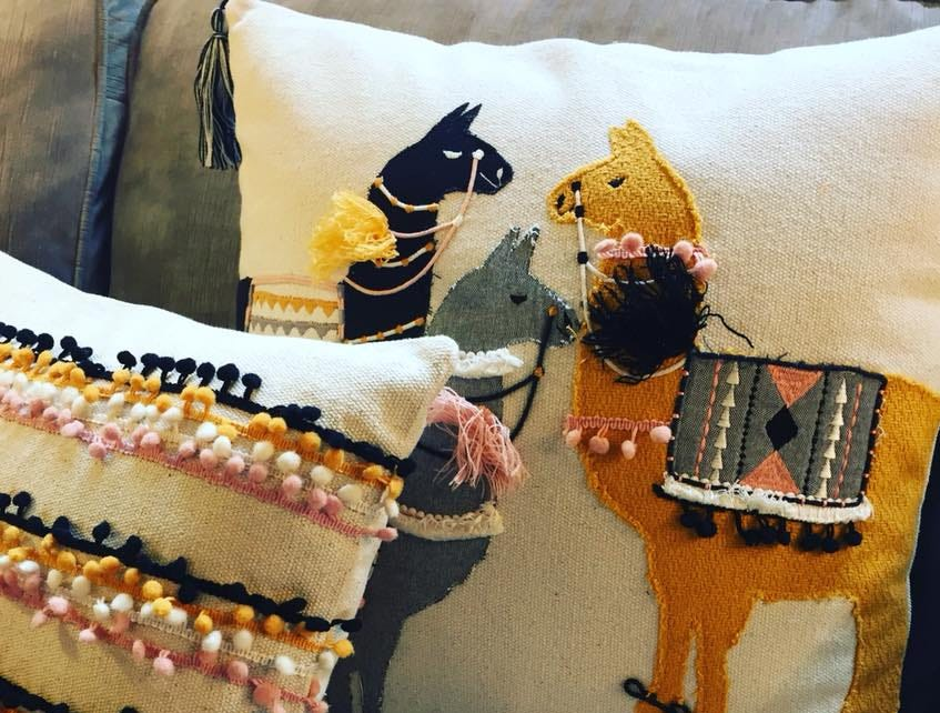 """Quirky pillows add some flair,"" says Chris Meredith Roy, owner of Your Nesting Place in Milford who suggests accents in the $50 price range to spruce up your surroundings."