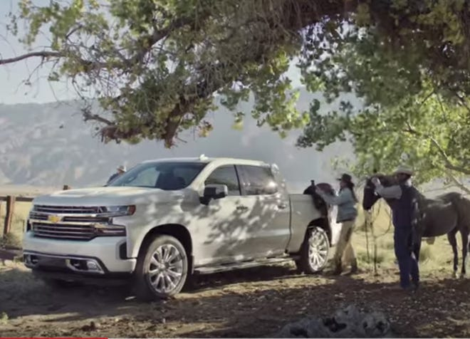 "The new 60-second spot, dubbed ""A Little Bit Country, A Little Bit Rock 'n' Roll,"" is a different take on the General Motors Co. brand's ""Real People Not Actors"" campaign."