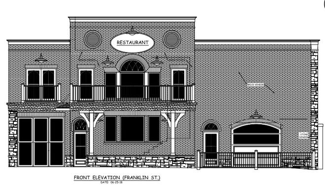 A rendering of what the new Hagedorn's is to look like, from West Franklin Street.