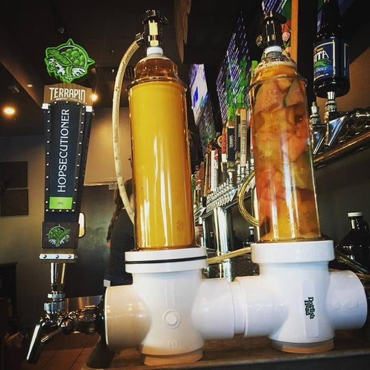 Keg & Cow in Cape Coral has a Randall for infusing beers with fresh fruits, herbs and other unique flavors.