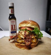 Keg & Cow, formerly Mr. Brews Taphouse, offers a range of burgers along with salads and fresh entrees.