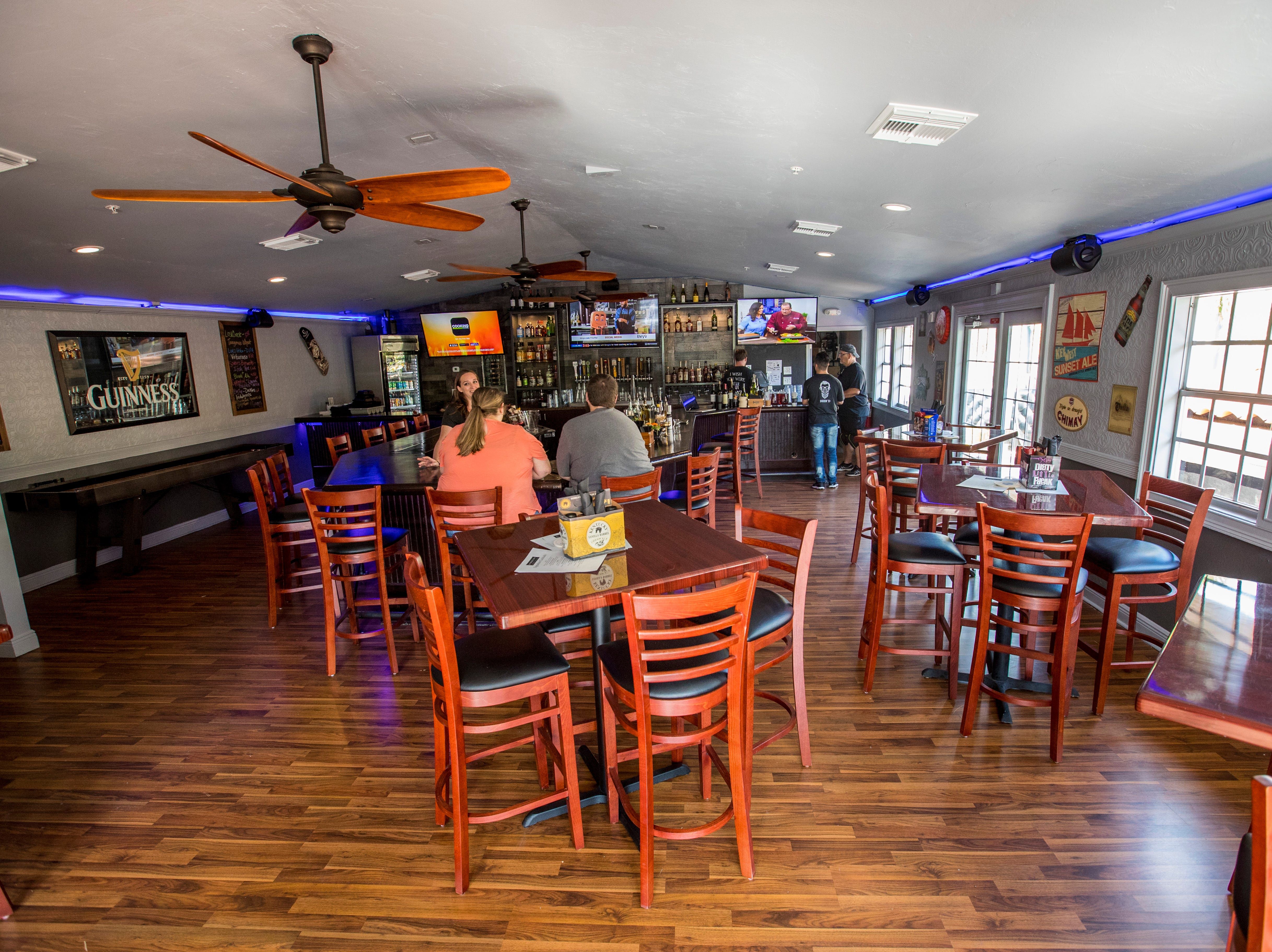 Upstairs bar and restaurant area. Owners Chad and Amber Zollinger just opened their second spot for their popular restaurant, 10 Twenty Five. The restaurant is opening in downtown Fort Myers, making it the second location for the local restaurant, which opened its first store in Cape Coral in fall 2016.