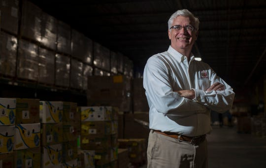 Harry Chapin Food Bank executive director Richard LeBer