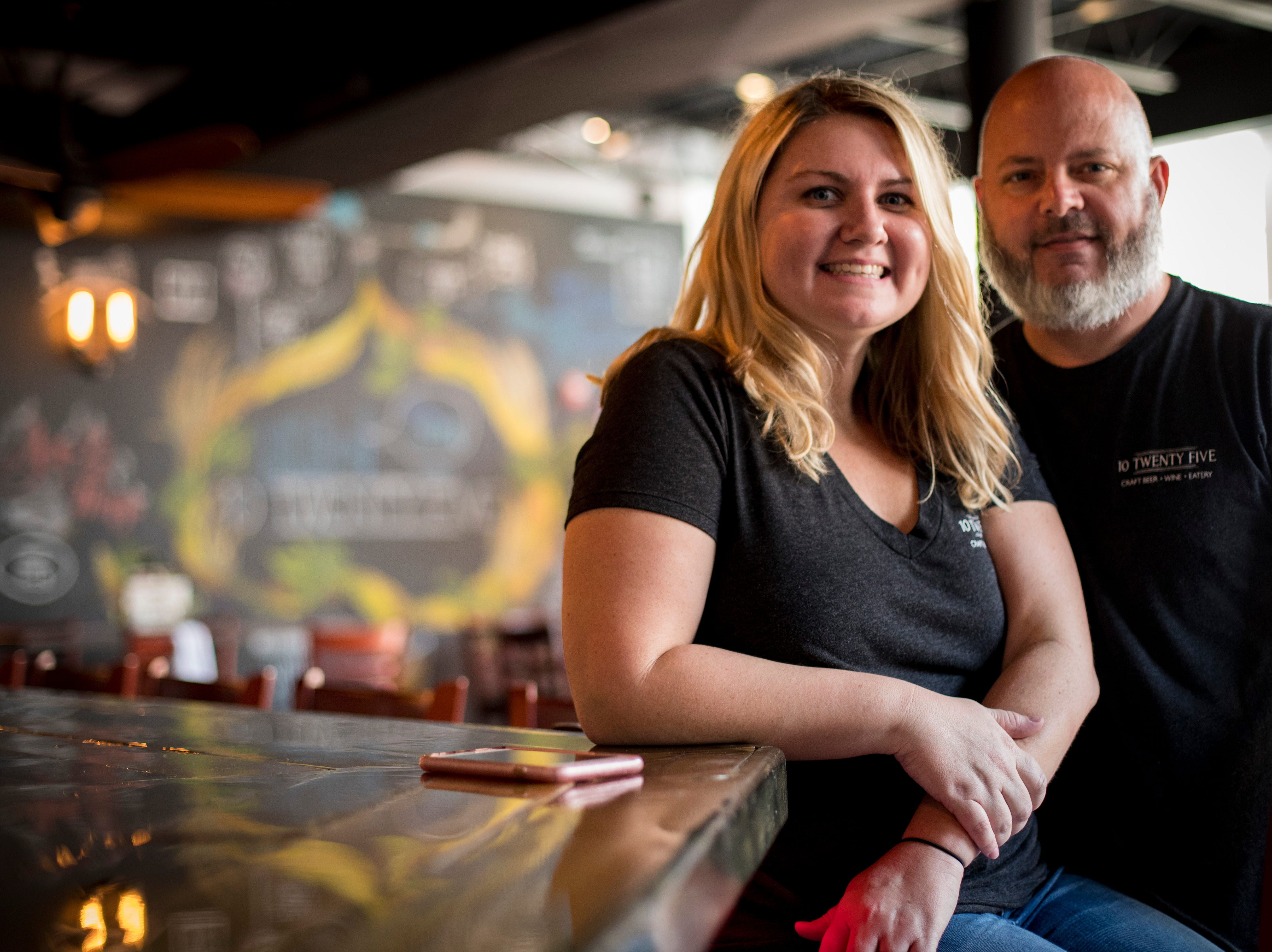 Owners Chad and Amber Zollinger just opened their second spot for their popular restaurant, 10 Twenty Five. The restaurant is opening in downtown Fort Myers, making it the second location for the local restaurant, which opened its first store in Cape Coral in fall 2016.