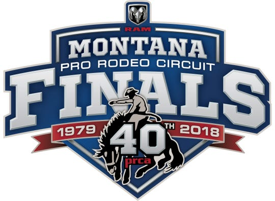 The official logo of the 40th annual Montana Pro Rodeo Circuit Finals