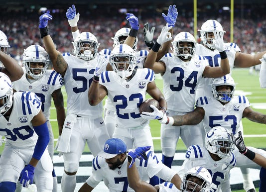 Indianapolis Colts Play At Houston Texans