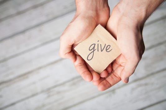 By giving to others, you give back to yourself.