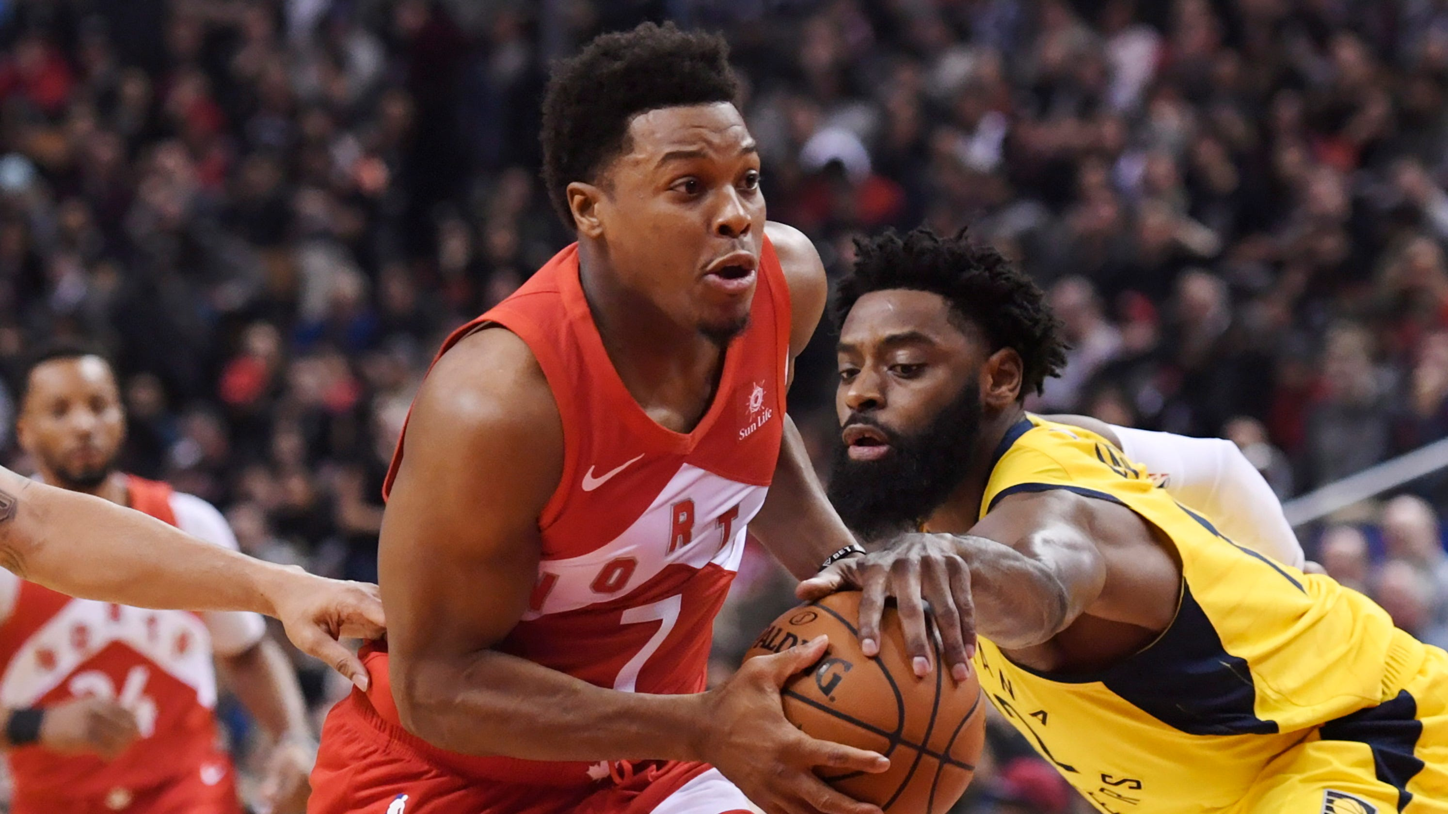 f78b2320f173 Pacers  win streak ends behind Raptors  red-hot 3-point shooting