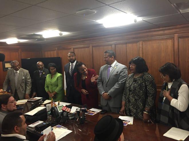 The Indiana Black Legislative Caucus released its 2019 agenda Monday.