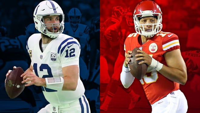 Andrew Luck and Patrick Mahomes are primed to duel in the AFC playoffs for years.