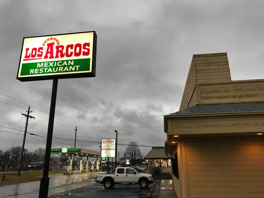 Los Arcos Mexican Restaurant in Iowa City is shown on Jan. 7, 2019.
