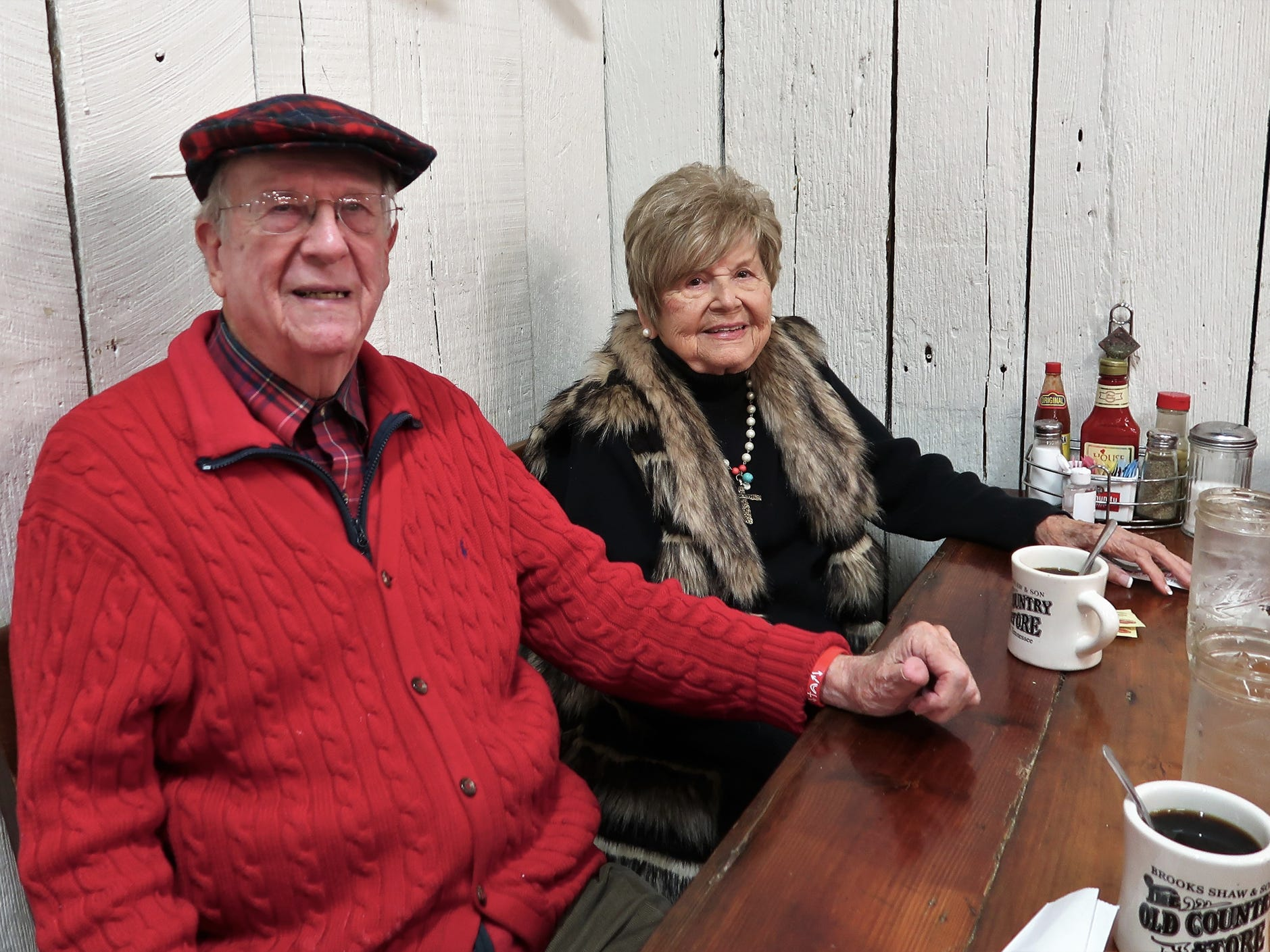The Brooks Shaw Old Country Store hosted the 34th Annual Christmas Eve Breakfast on Monday, December 24, 2018.  The event is held each year to thank customers for their patronage throughout the year.  The breakfast buffet is offered for $4.99 for adults and $2.99 for children under 12.  The restaurant expected to serve over 2,000 people before early afternoon.