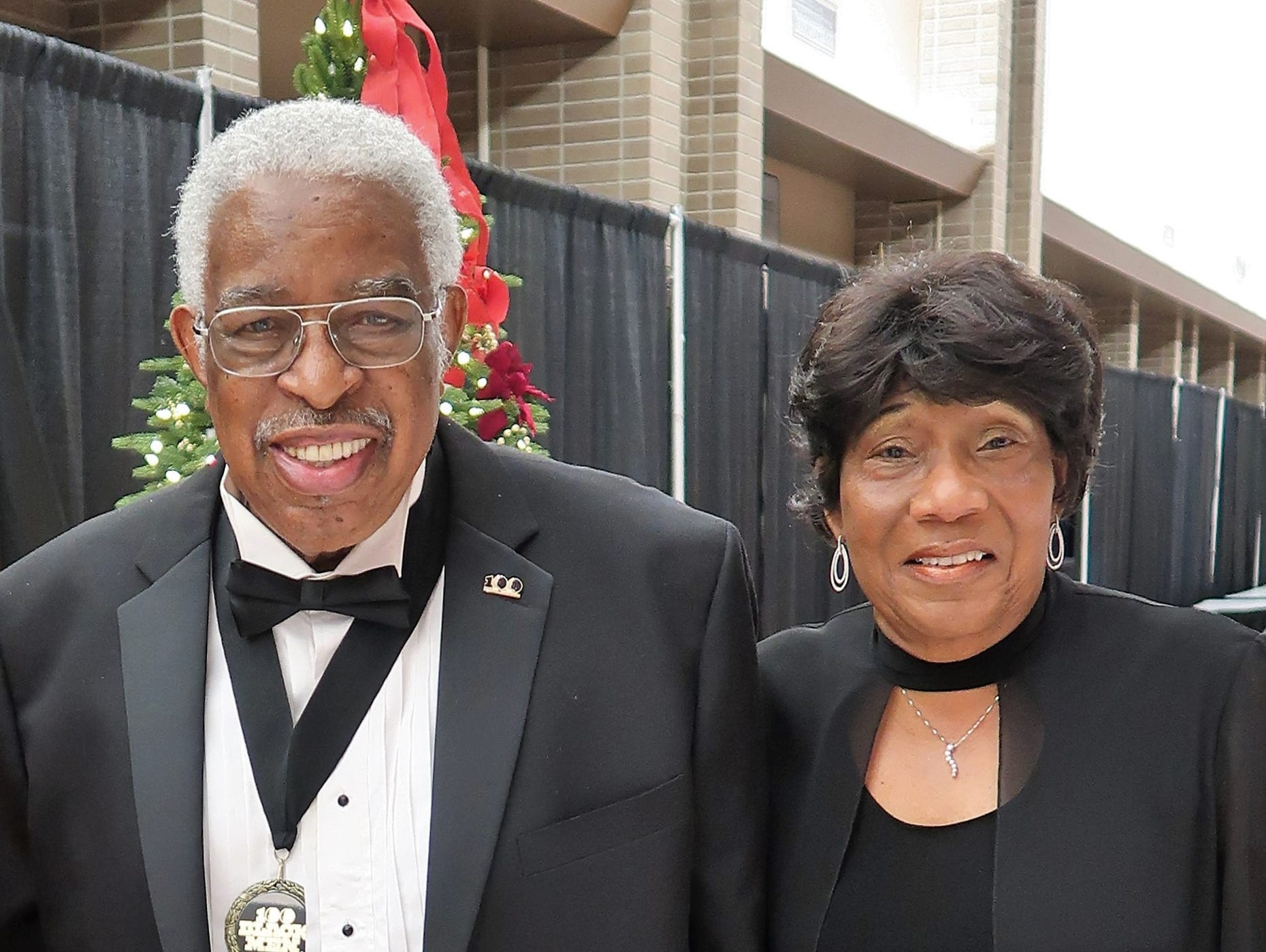 """The 26th annual 100 Black Men of West Tennessee Scholarship Gala, with the theme """"Holiday Splendor 2018"""", was held on Friday, December 28, 2018 at the Carl Perkins Civic Center in downtown Jackson.  The gala is held each year to support the Twenty-first Century Scholars, the F.A.M.I.L.Y. Mentoring and Book Buddies programs."""