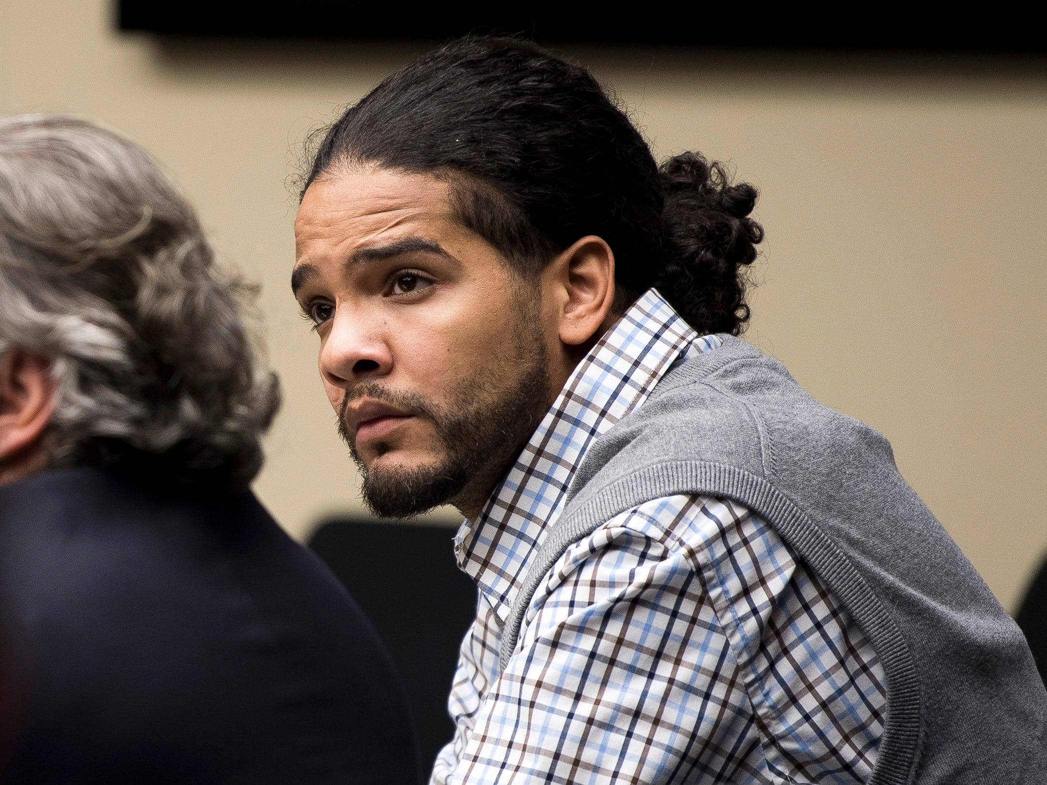 Ralpheal Coffey during his trial in Knox County Criminal Court on Monday, January 7, 2019.