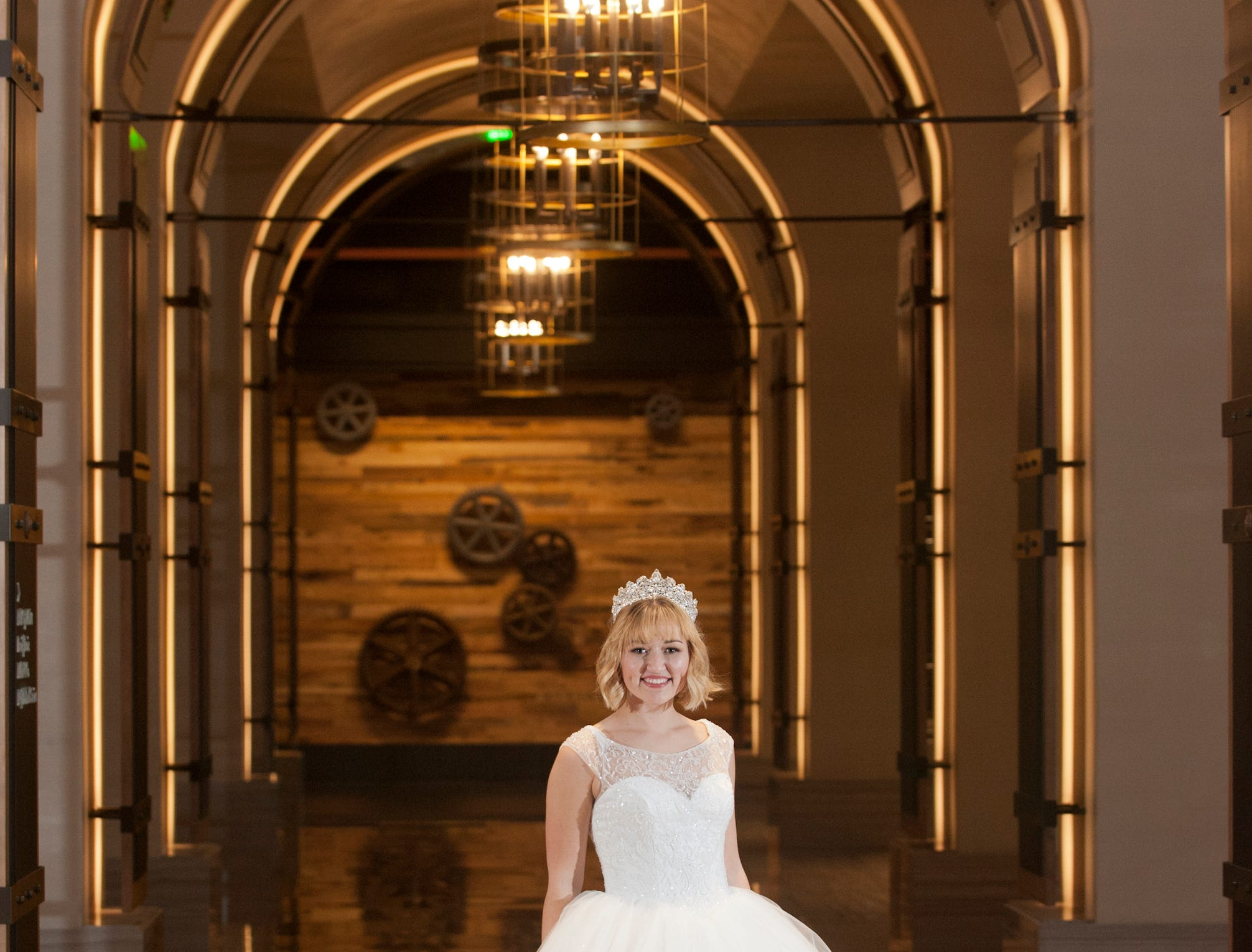 Kentucky Derby Festival Kelsey Sutton, 22, of Brandenburg, Kentucky, is a Centre College senior majoring in mathematics and minoring in education. She posed in the lobby of the Omni Louisville Hotel. 06 January 2019