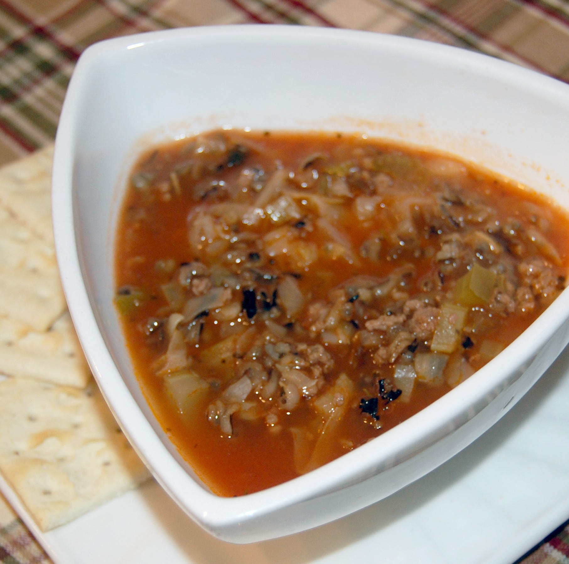 Recipe: Cabbage tomato wild rice soup simple, hearty | Sweet & Savory