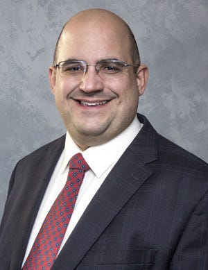 Jason Crundwell, director of development and alumni relations at St. Peter's of Mansfield, is running for city council in the second ward.